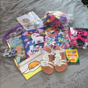Other - Girls sandals (size 11) and summer fun bundle